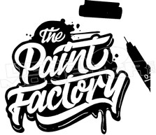 the Paint Factory Art Decal Sticker