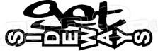 Get Sideways JDM  2 Decal Sticker