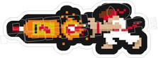 Fireball Drinking Funny Decal Sticker
