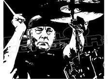 Rush Neil Peart Memorial Drummer Decal Sticker