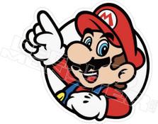 Mario7 Gamer Decal Sticker