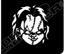 Chucky2 Decal Sticker