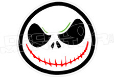 Jack Skeleton3 Decal Sticker