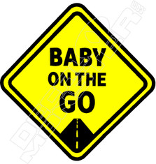 Baby On the Go Decal Sticker
