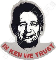 In Ken We Trust Oilers Decal Sticker
