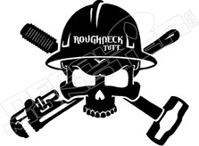 Roughneck Tuff Oil Decal Sticker