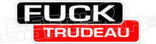 Fuck Trudeau Lincoln Electric Welder Parody Decal Sticker