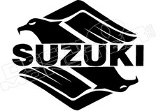 Suzuki Eagle Motorcycle Decal Sticker