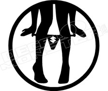 Suzuki Panty Droper Decal Sticker