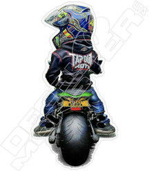 Mini Motorcycle Buddz Decal Sticker