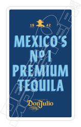 Donjulio Premium Tequila Decal Sticker