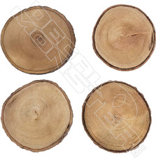 Wood Coasters Decal Sticker