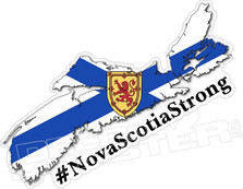 Nova Scotia Strong Decal Sticker DM