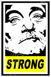 Bill Murray Strong Decal Sticker