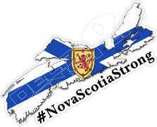 Nova Scotia Strong Memorial Decal Sticker