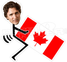 Trudeau Fucked Canada Decal Sticker