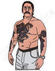 Danny Trejo 2 Decal Sticker