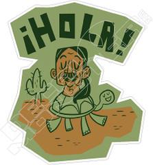 Ihola! Danny Trejo Decal Sticker