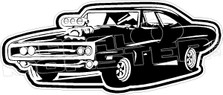 Fast and The Furious Movie Charger Car Decal Sticker