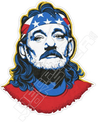 USA Bill Murray Decal Sticker