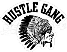 Hustle Gang Decal Sticker