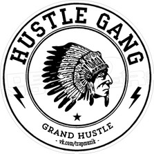 Hustle Gang 2 Decal Sticker