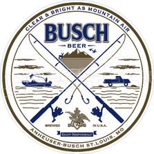 Busch Beer Sportsman Outdoorsman Decal Sticker