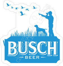 Busch Beer Hunting Decal Sticker