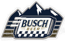 Busch Beer Racing Decal Sticker