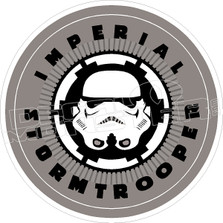 Imperial Storm Trooper Star Wars Decal Sticker