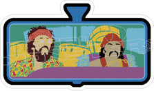 Cheech and Chong Decal Sticker
