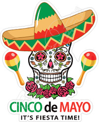 Cinco de Mayo2 Decal Sticker