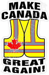 Make Canada Great Again Decal Sticker