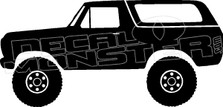 Ford Bronco OJ Decal Sticker