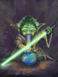 Smoking Yoda