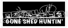 Gone Shed Hunting - Hunting Decal