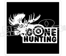 Gone Hunting - Hunting Decal
