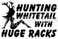 Huge Racks - Hunting Decal