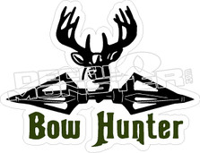 Bow Hunter - Hunting Stickers