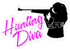 Hunting Diva - Hunting Decal
