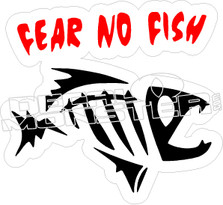 Fear No Fish - Fishing Decal