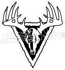Elk Rack - Hunting Decal