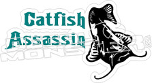 Catfish Assassin - Fishing Decal