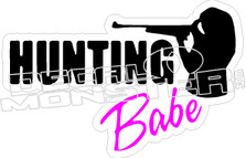 Hunting Babe - Hunting Decal