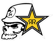 Metal Mulisha Rockstar Decal