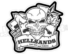 Hellsands Fort Mac Alberta Decal