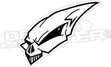 Alien Skull 1 Decal