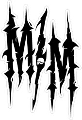 Our Decals Stickers Can Go On Cars Windows Boats ATVs Hard Metal Mulisha 13 Decal