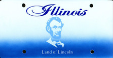 Illinois State Auto Plate