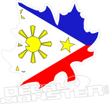 Philippines Maple Leaf Decal DM